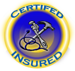 Certified and Insured